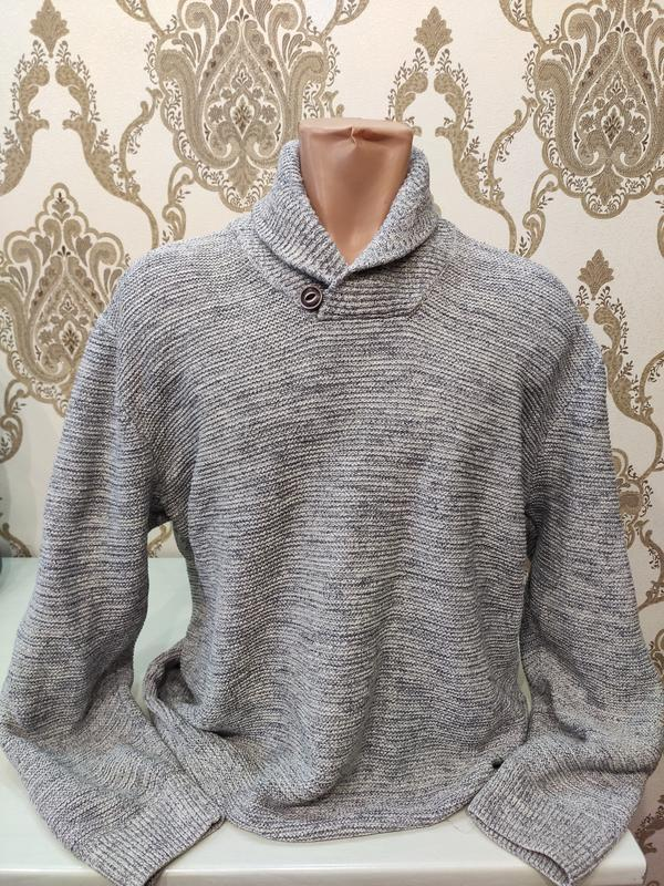 Debenhams мужской серый свитер коттон