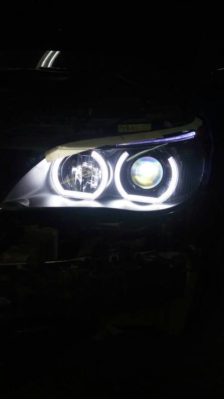 Светодиодные ангельские глазки BMW F стиль - Фото 5