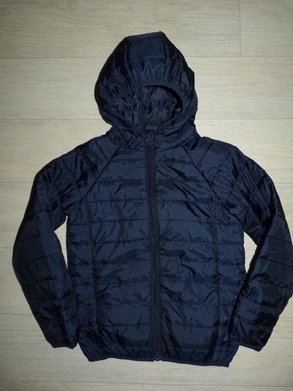 Тонкая стеганная куртка pep&co 7-8 лет