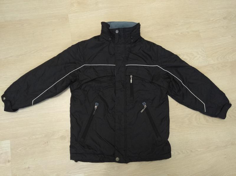 Зимняя термо куртка курточка теплая next 4 real 7-8 лет