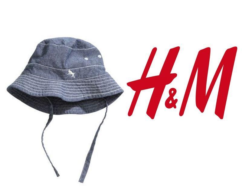 H&m панамка кепка шапка р.48 или 80 для мальчика