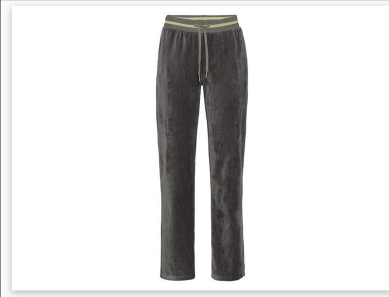 Спортивные велюровые  штаны esmara