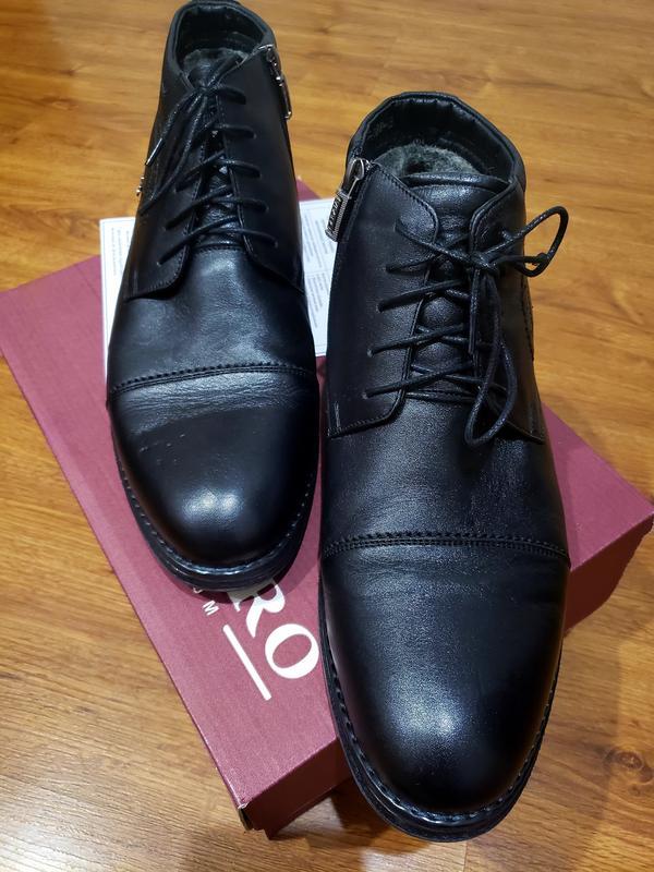 Ботинки мужские зимные - Фото 4