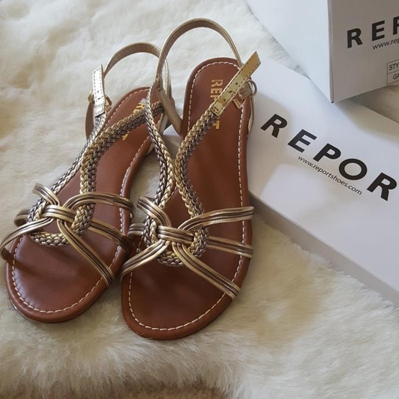 Новые летние стильные босоножки, сандалии report бренд