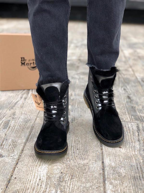 Ботинки dr. martens (зима)