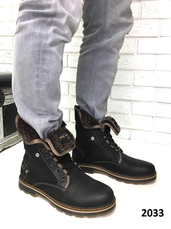 Ботинки зимние мужские - Фото 5