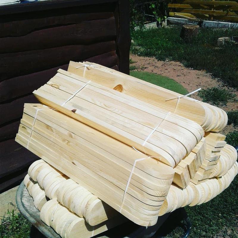 Деревянный забор , штакетник - Фото 5