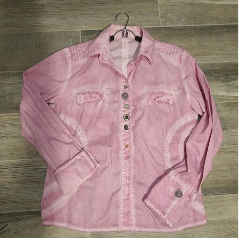 Рубашка розовая женская бренд: bollega италия