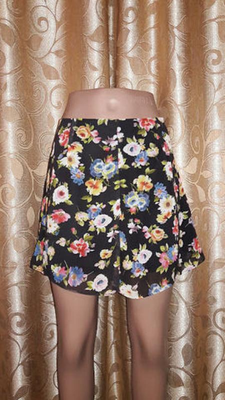 🌺🎀🌺легкие женские шорты-юбка atmosphere🔥🔥🔥