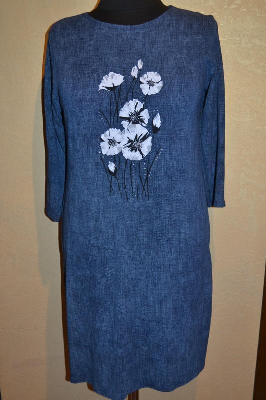 Платье 50-52-54 р