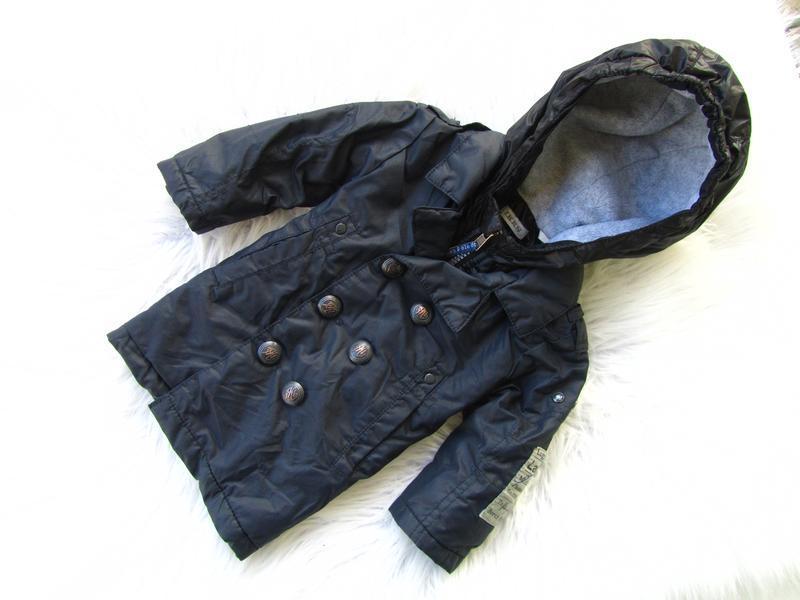Стильная демисезонная куртка пальто парка с капюшоном ikks