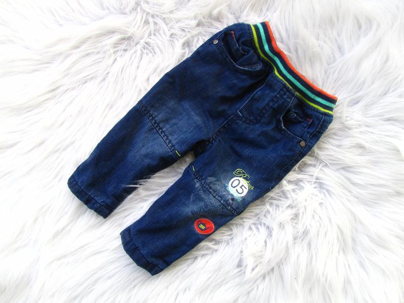 Стильные утепленные джинсы штаны брюки orchestra