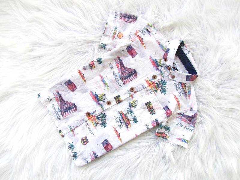 Стильная и качественная рубашка с коротким рукавом rebel
