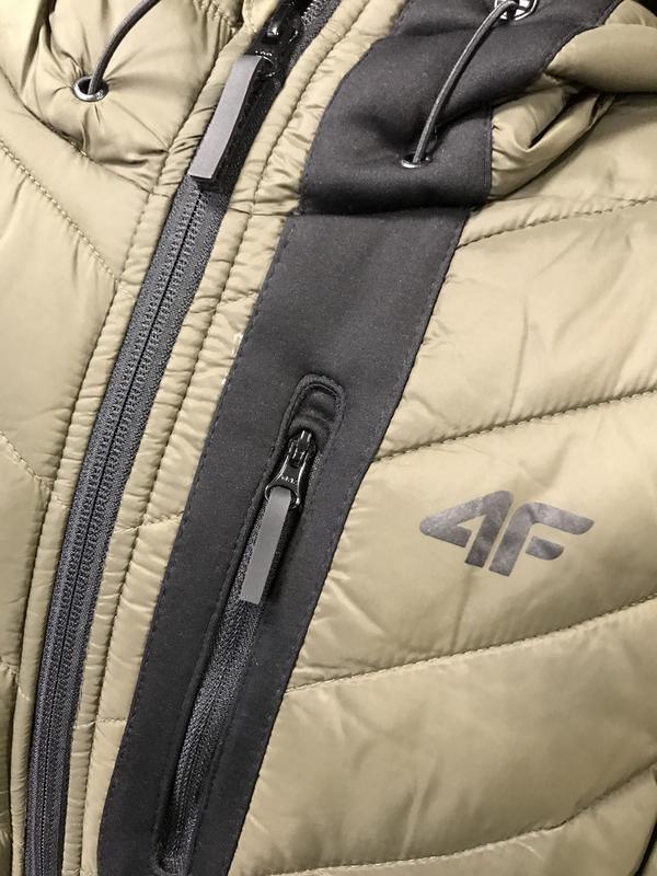 Чоловіча крута пухова куртка 4f - Фото 3