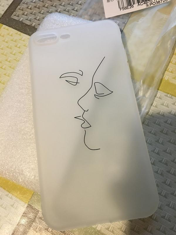 Новый силиконовый матовый чехол на айфон iphone 7 + или 8 + плюс