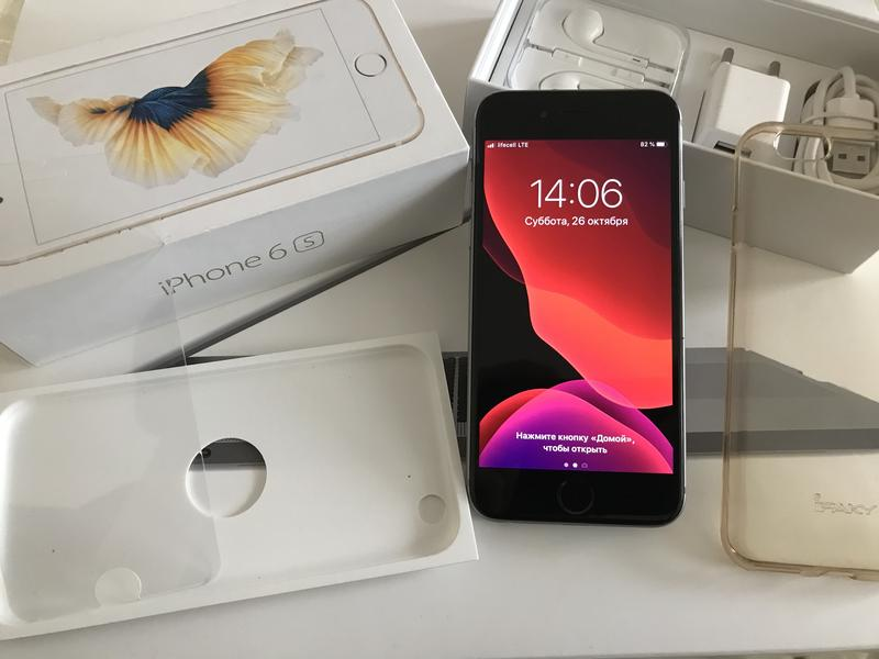 Apple iPhone 6s 16gb Space Gray Neverlock идеал