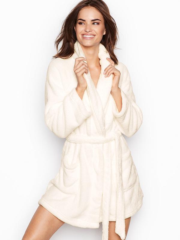 Уютный плюшевый халат victoria's secret оригинал