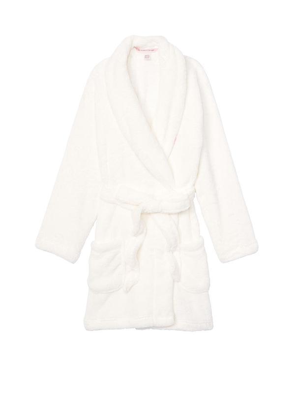 Уютный плюшевый халат victoria's secret оригинал - Фото 3