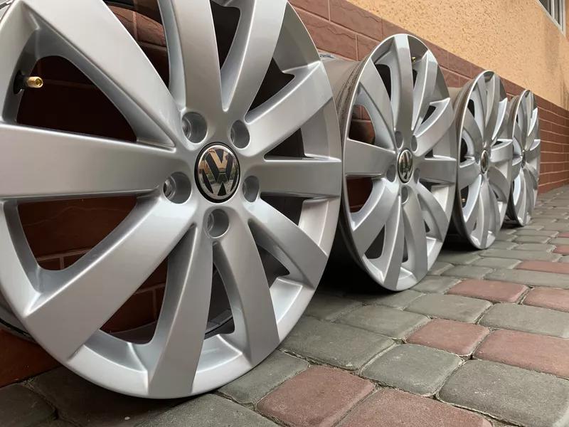 Продам оригинальные диски Volkswagen Passat Sharan Scirocco - Фото 3