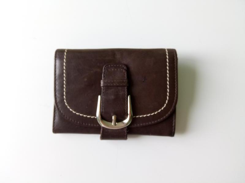 Маленький кожаный кошелек  sandino.