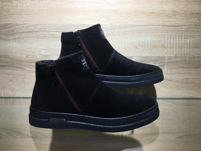 Мужские зимние ботинки натуральная кожа в наличии украина - Фото 5