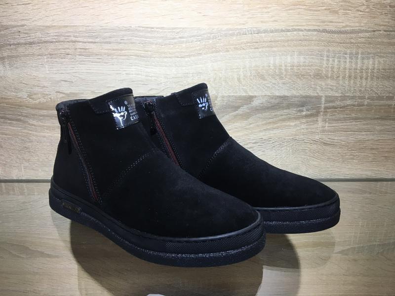 Мужские зимние ботинки натуральная кожа в наличии украина - Фото 6