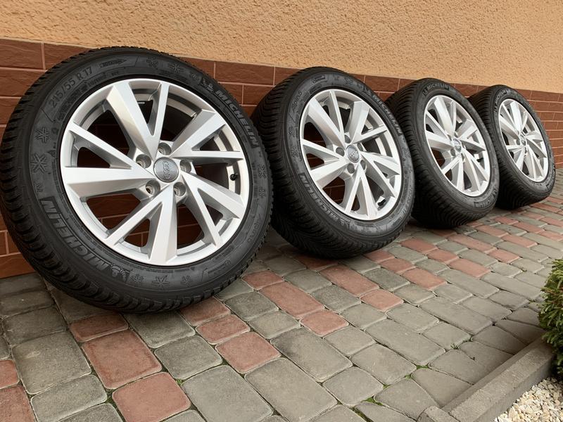 Продам оригинальные диски Audi  Q2 VW Passat Škoda Octavia SuperB