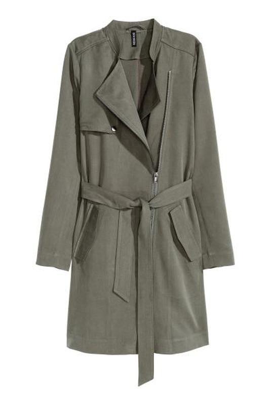 Sale! h&m тренч, тренчкот, плащ, куртка, ветровка. размер 36 евро