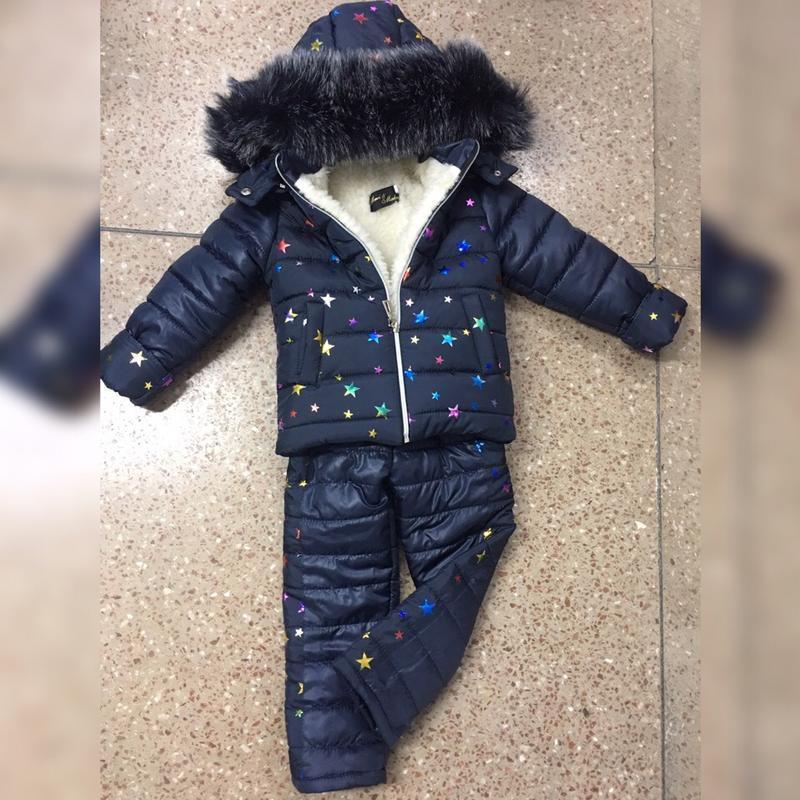 Зимний костюм, комбинезон для девочки