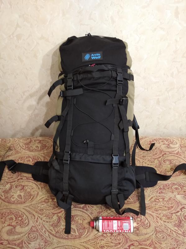 Туристический рюкзак Dalar 110 от бренда Arctic Wolf (волковский)