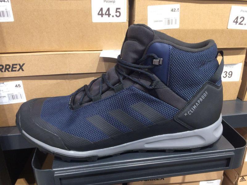 Мужские ботинки adidas terrex tivid mid cp (артикул:g26518) - Фото 5