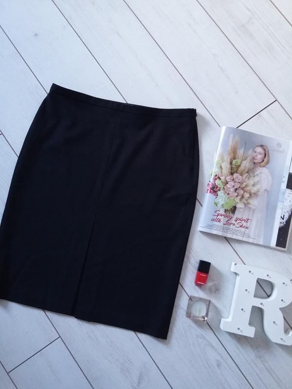 Лаконичная базовая юбка миди для деловой девушки..# 17
