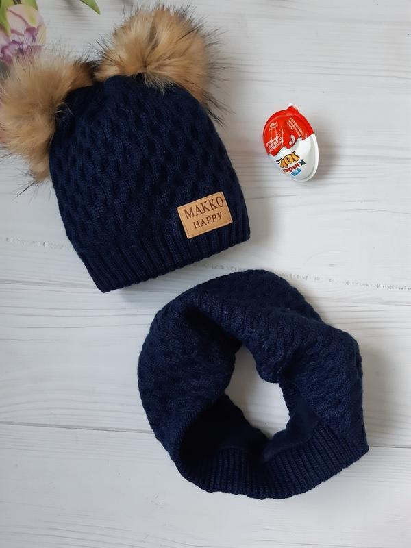 Крутeзний набір шапка+хомут