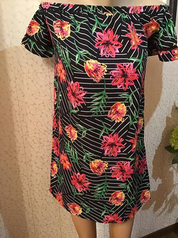 Идеальное летнее платье/платье на плечи