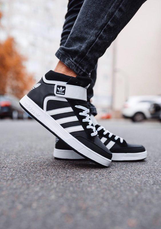 Шикарные мужские осенние кроссовки adidas black black 😍 (евроз...