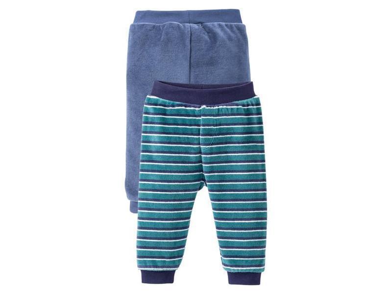 Велюровые мягусенькие штанишки 86/92 комплект 2шт. lupilu