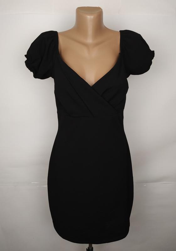 Платье шикарное базовое boohoo uk 12/40/m