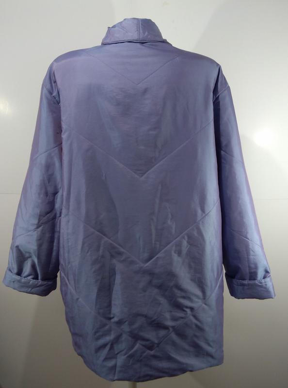 Женская куртка на кнопках весна - осень размер 50 - Фото 2