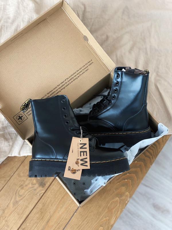 Зимние ботинки dr. martens