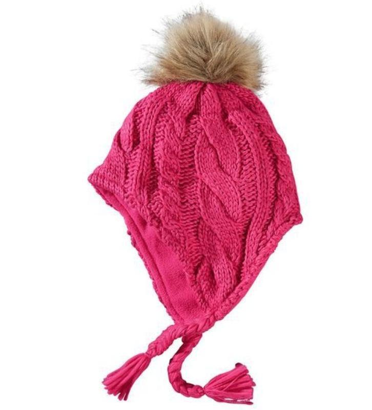 Теплая шапочка шапка на флисе для девочки бренд lupilu - герма...