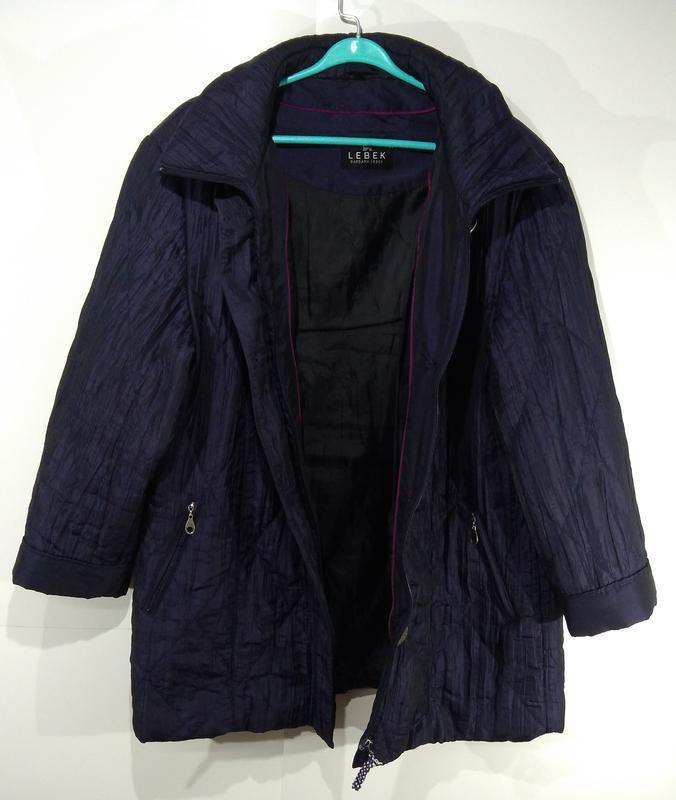Женская куртка весна - осень размер 50 - Фото 4