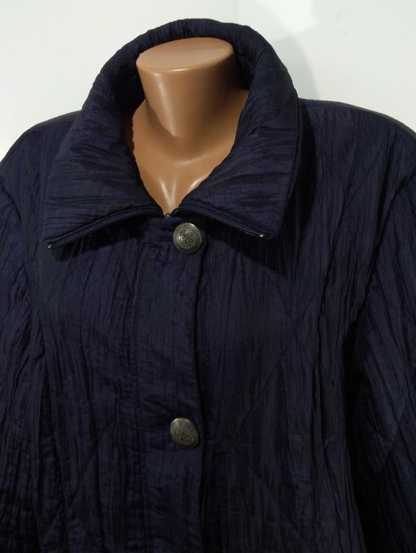 Женская куртка весна - осень размер 50 - Фото 6