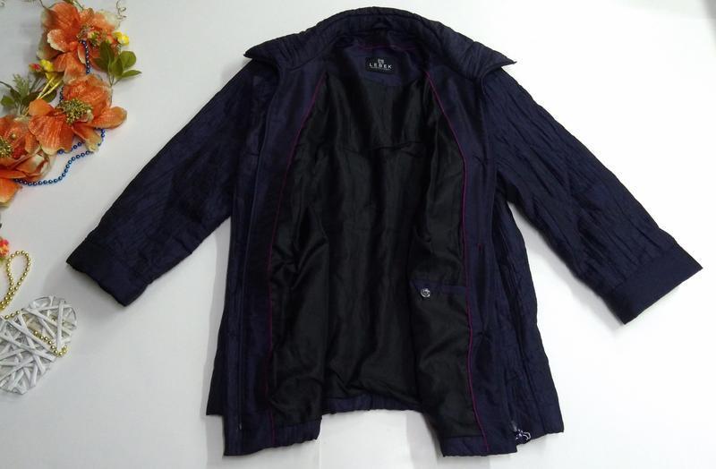 Женская куртка весна - осень размер 50 - Фото 8