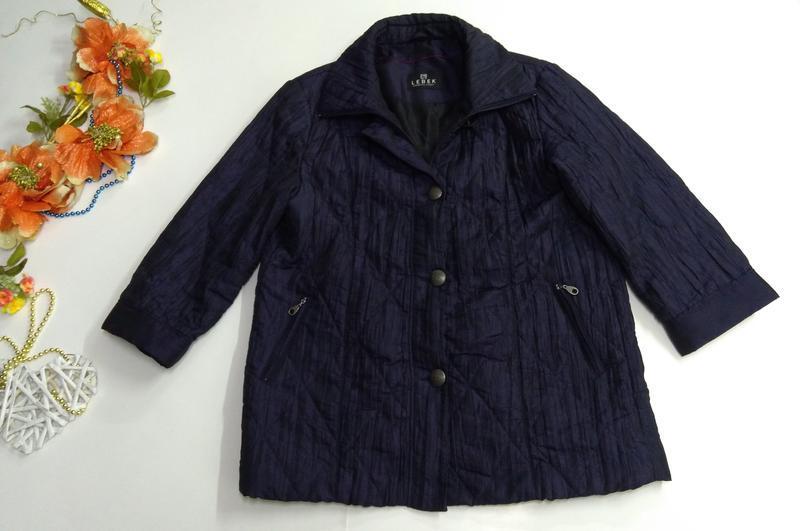 Женская куртка весна - осень размер 50 - Фото 9