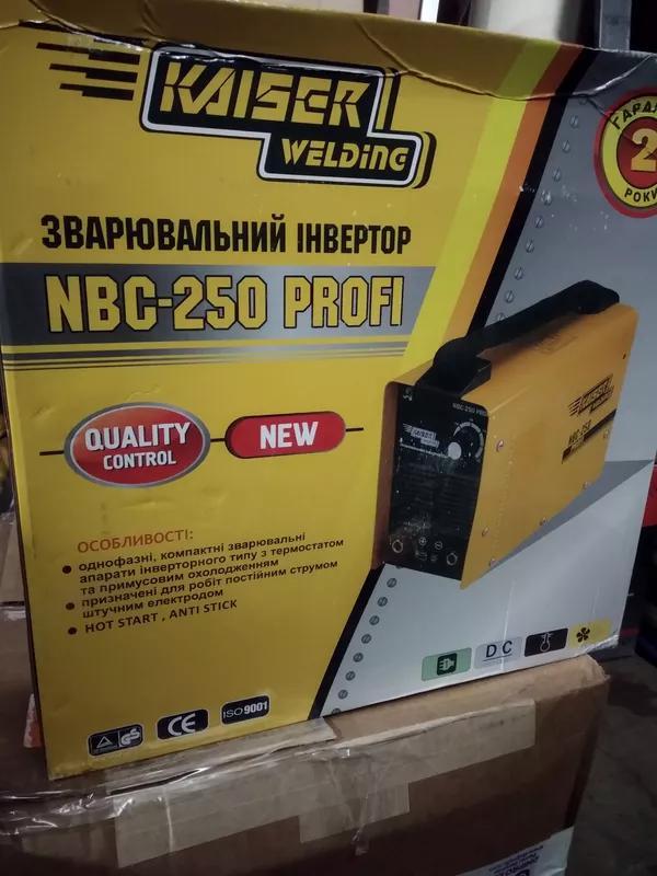 инвертор сварочный Kaiser NBC 260 Profi