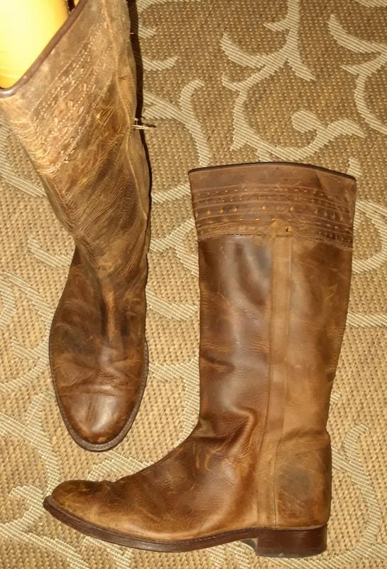 Шкіряні чоботи іспанія