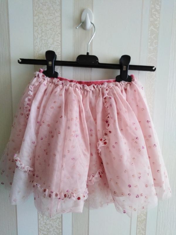 Фатинова юбка h&m
