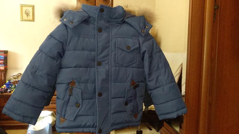 Куртка зимняя на мальчика р 86