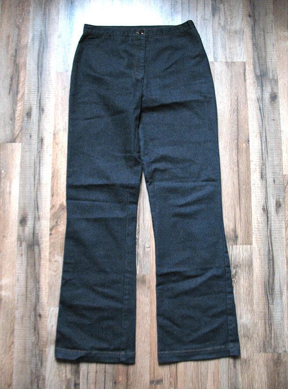 Летние джинсы, брюки с высокой посадкой тм blue