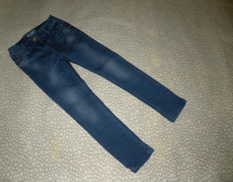 Узкие джинсы skinny next 8-9 лет